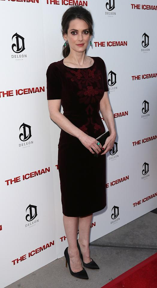 "HOLLYWOOD, CA - APRIL 22:  Actress Winona Ryder attends the Los Angeles special screening of Millennium Entertainment's ""The Iceman"" at ArcLight Hollywood on April 22, 2013 in Hollywood, California.  (Photo by David Livingston/Getty Images)"