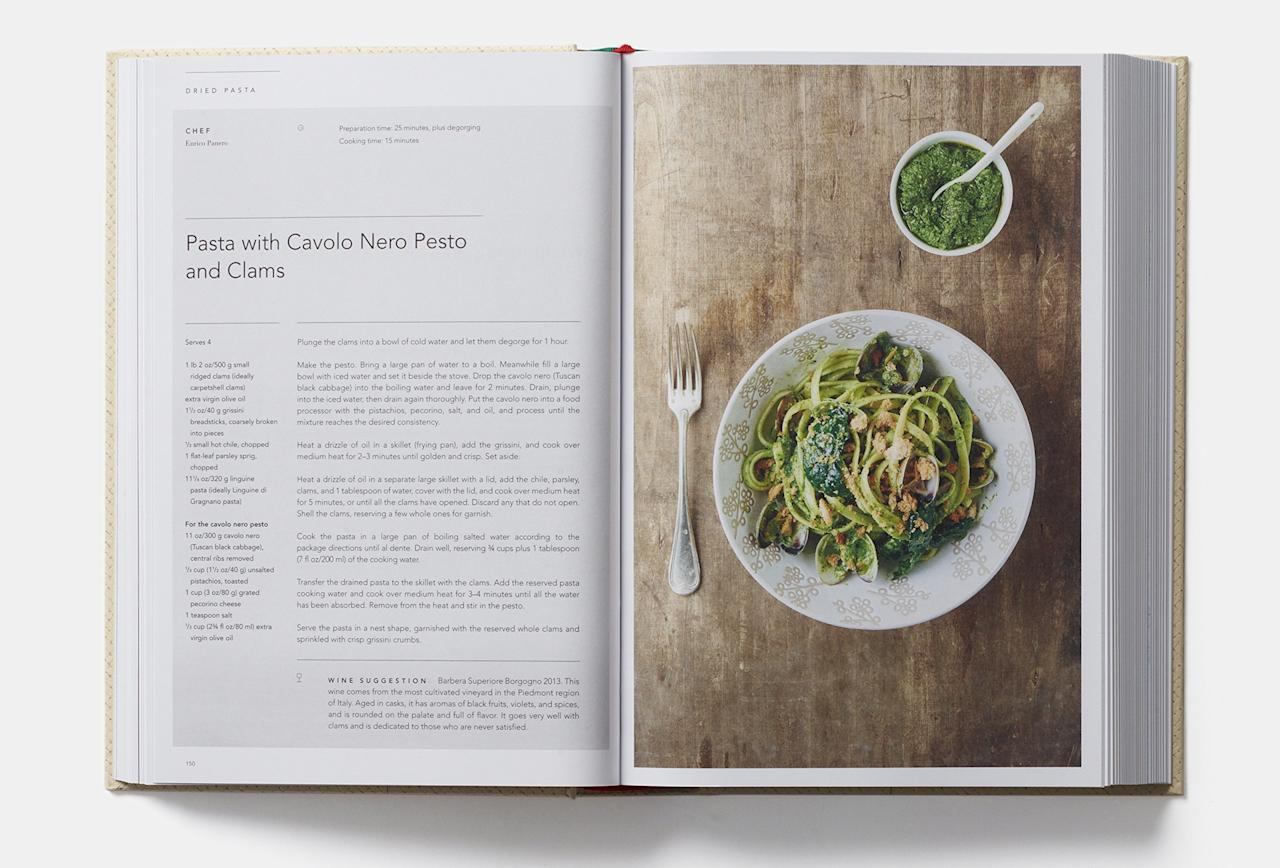 """<p>This large definitive kitchen bible from New York City's Eataly not only features over 300 recipes from all parts of Italy, it has a savvy, visual guide to various staples for both amateur and advanced chefs. And, we also think it looks great on a shelf.</p> <p><a href=""""https://www.amazon.com/Eataly-Contemporary-Italian-Cooking/dp/0714872792/ref=sr_1_1?s=books&ie=UTF8&qid=1480707236&sr=1-1&keywords=eataly+cookbook"""">$38</a></p>"""