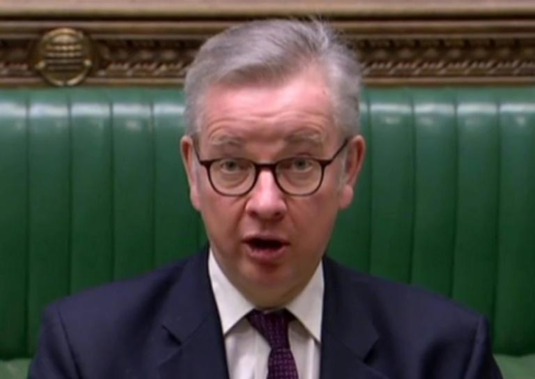 Senior UK minister Michael Gove called the situation 'completely unacceptable'