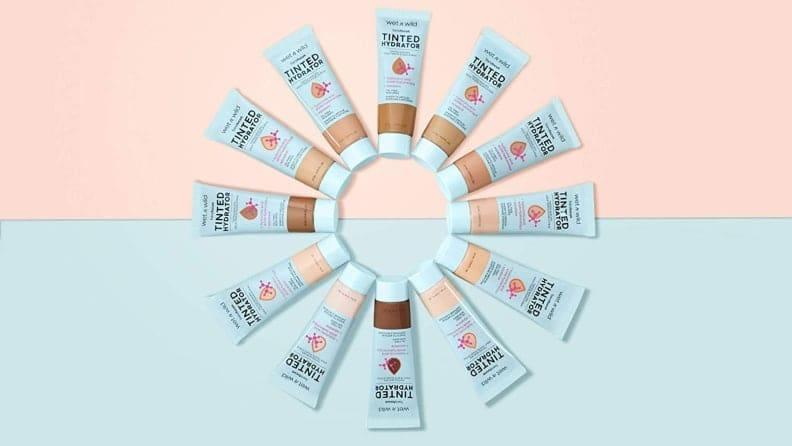 The Wet n Wild Bare Focus Tinted Hydrator comes in 12 shades ranging from porcelain to rich.