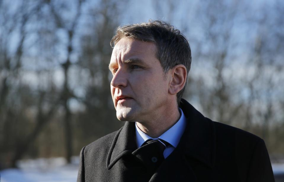 Bjoern Hoecke of the right-wing Alternative for Germany (AFD). (REUTERS/Hannibal Hanschke)