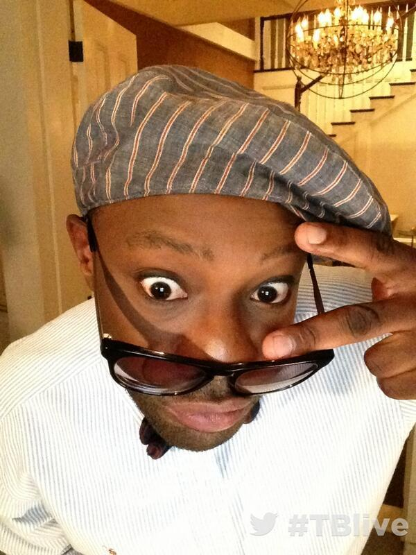 On set at #TBlive #TrueBlood ?with Nelsan Ellis