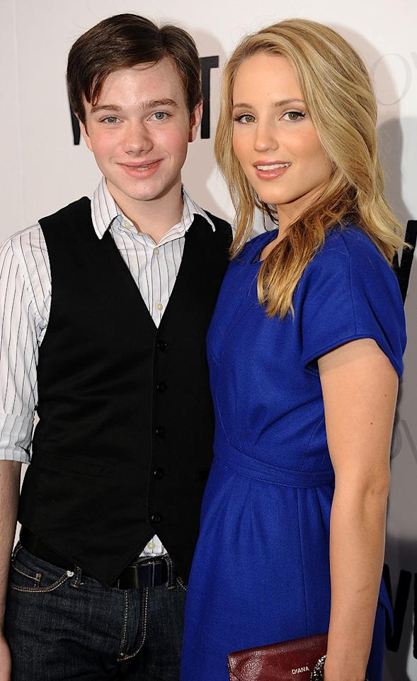 """Chris Colfer and <a href=""""http://movies.yahoo.com/movie/contributor/1809759328"""">Dianna Agron</a> at the Los Angeles premiere of <a href=""""http://movies.yahoo.com/movie/1810036665/info"""">Whip It!</a> - 09/29/2009"""
