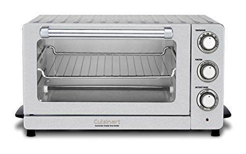 """<p><strong>Cuisinart</strong></p><p>amazon.com</p><p><strong>$119.95</strong></p><p><a href=""""https://www.amazon.com/dp/B01M1LW7XH?tag=syn-yahoo-20&ascsubtag=%5Bartid%7C1782.g.34057925%5Bsrc%7Cyahoo-us"""" rel=""""nofollow noopener"""" target=""""_blank"""" data-ylk=""""slk:BUY NOW"""" class=""""link rapid-noclick-resp"""">BUY NOW</a></p><p>Looking for a gadget that can do it all? Cuisinart's compact oven can bake, broil, toast, and warm up to perfection.</p>"""