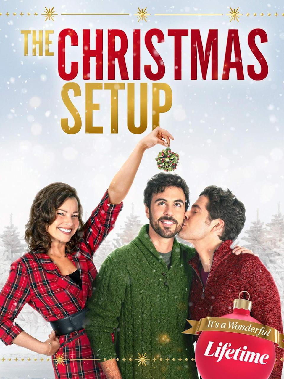"""<p>When New York lawyer Hugo heads to Milwaukee with his best friend Madelyn for the holidays, he's surprised to run into his old crush Hugo. As they enjoy the holidays together, he must consider whether he wants to pursue a big promotion or his budding relationship.</p><p><a class=""""link rapid-noclick-resp"""" href=""""https://www.amazon.com/Christmas-Setup-Inc-MarVista-Entertainment/dp/B08QGMFPQG/?tag=syn-yahoo-20&ascsubtag=%5Bartid%7C10070.g.29702471%5Bsrc%7Cyahoo-us"""" rel=""""nofollow noopener"""" target=""""_blank"""" data-ylk=""""slk:STREAM NOW"""">STREAM NOW</a></p>"""