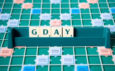 Australianisms can now earn points in Scrabble - Credit: Paul Grover/Telegraph