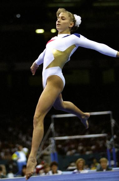 """At the Olympics, you there to do a job. I feel you should take it seriously. You should be respectful. You are putting on the red-white-and-blue and going out there to perform for your country"" - Shannon Miller (The most decorated gymnast in U.S. History; won gold medals in Team and Balance Beam at the 1996 Olympics.)"
