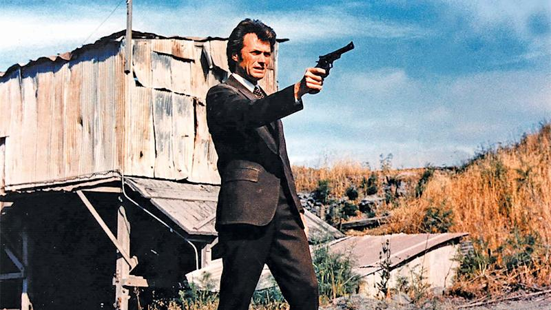 TITLE: DIRTY HARRY • PERS: EASTWOOD, CLINT • YEAR: 1971 • DIR: SIEGEL, DON • REF: DIR005DT • CREDIT: [ THE KOBAL COLLECTION / WARNER BROS ]