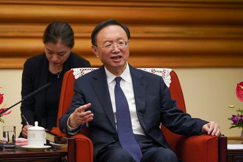 Governor of China's Xinjiang says US  bill violates global  law