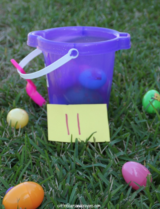 """<p>For your littlest ones, this game is a great way to incorporate Easter fun while practicing counting.</p><p><strong>Get the tutorial at <a href=""""https://www.coffeecupsandcrayons.com/egg-number-identification-counting-game/"""" rel=""""nofollow noopener"""" target=""""_blank"""" data-ylk=""""slk:Coffee Cups and Crayons"""" class=""""link rapid-noclick-resp"""">Coffee Cups and Crayons</a>.</strong></p><p><strong><strong><a class=""""link rapid-noclick-resp"""" href=""""https://www.amazon.com/Prextex-Easter-Eggs-Assortment-288/dp/B06XFWF7JR/?tag=syn-yahoo-20&ascsubtag=%5Bartid%7C10050.g.4083%5Bsrc%7Cyahoo-us"""" rel=""""nofollow noopener"""" target=""""_blank"""" data-ylk=""""slk:SHOP EASTER EGGS"""">SHOP EASTER EGGS</a></strong><br></strong></p>"""