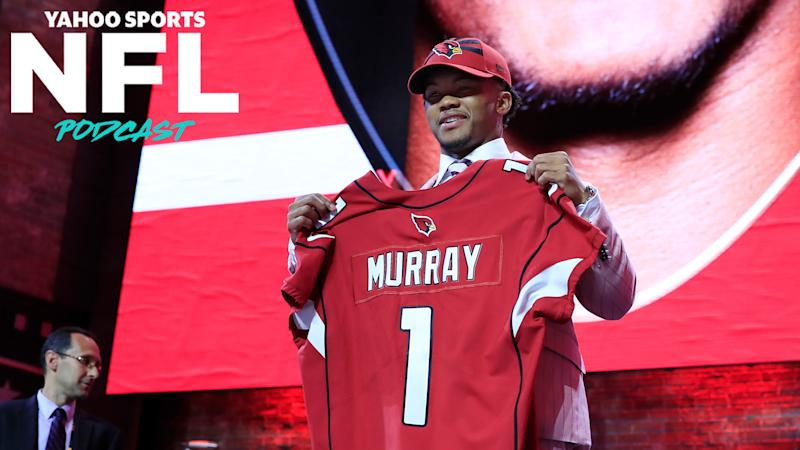 Arizona Cardinals QB Kyler Murray at the 2019 NFL Draft. With college football potentially on-hold until the spring of 2021, what will come of next April's draft? (Photo by Andy Lyons/Getty Images)