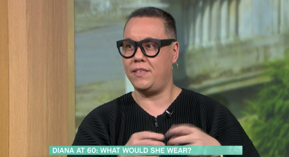 Gok Wan presented the segment asking 'what would Princess Diana wear today?'. (ITV)