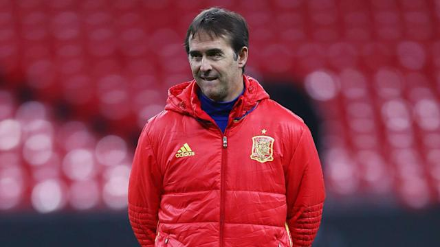 Julen Lopetegui will be presented to the media as Real Madrid's new head coach a day before he was due to be leading Spain in the World Cup.