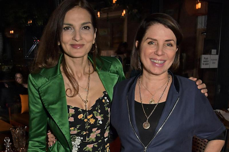 Yasmin Mills and Sadie Frost attend the Ecofetes Inspiration Talk (Photo by David M. Benett/Dave Benett/Getty Images)