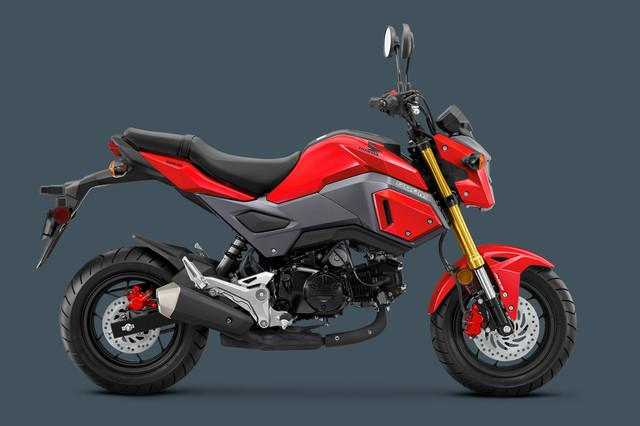 2018 Honda Grom ABS adds increased safety to your 'Gromance'