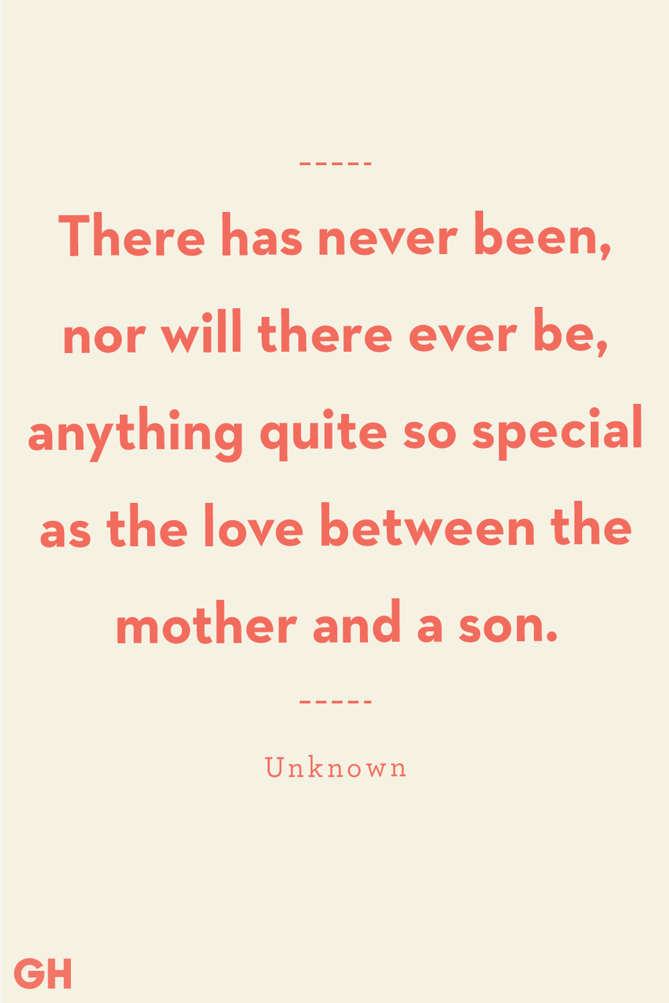 <p>There has never been, nor will there ever be, anything quite so special as the love between the mother and a son.</p>
