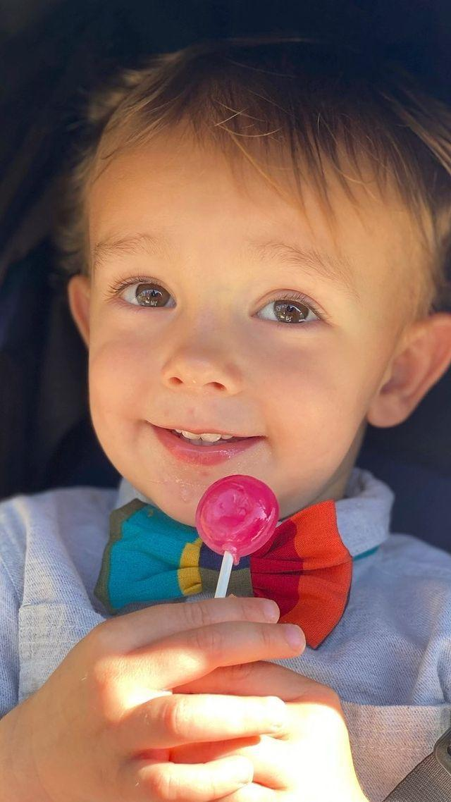 """<p>Mom Amanda Kloots shared a beautiful video tribute to her little boy Elvis Eduardo Cordero on June 10, in honor of his second birthday. </p> <p>""""These are some of my favorite moments from age 1 to 2!"""" she wrote, adding, """"I feel so lucky to be your mama.""""</p>"""