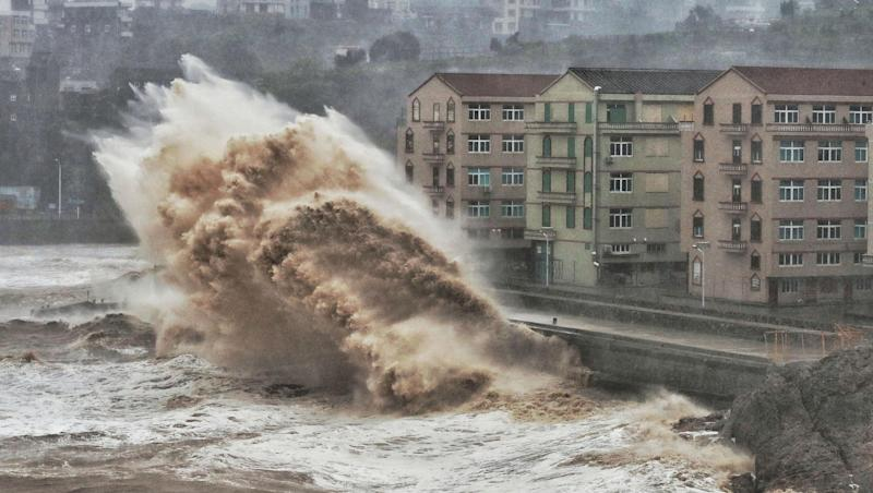 Typhoon Lekima: 13 Dead, 16 Missing in Landslide in East China