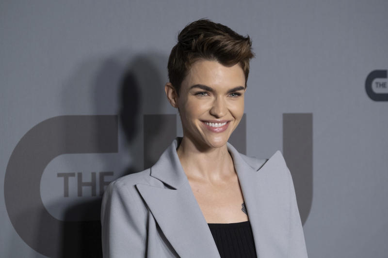 Ruby Rose attends the CW 2019 Network Upfront at New York City Center on Thursday, May 16, 2019, in New York. (Photo by Charles Sykes/Invision/AP)