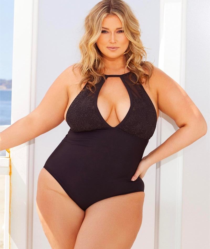 f5cee29e5c9b0 Hunter McGrady Just Launched the Plus-Size Swim Collection You'll ...