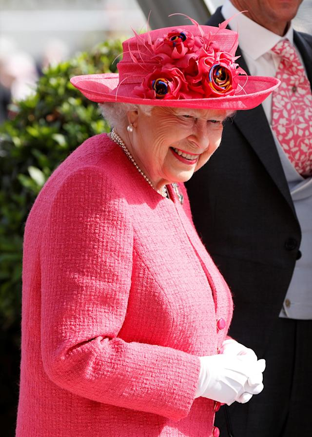 Horse Racing - Royal Ascot - Ascot Racecourse, Ascot, Britain - June 21, 2018 Britain's Queen Elizabeth during the presentation for the 4.20 Gold Cup Action Images via Reuters/Paul Childs
