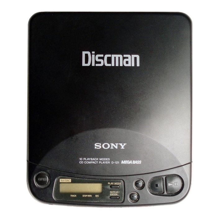 """<p><a class=""""link rapid-noclick-resp"""" href=""""https://www.amazon.com/Sony-D191-Discman-Portable-Player/dp/B00001ZT4I?tag=syn-yahoo-20&ascsubtag=%5Bartid%7C10063.g.34738490%5Bsrc%7Cyahoo-us"""" rel=""""nofollow noopener"""" target=""""_blank"""" data-ylk=""""slk:BUY NOW"""">BUY NOW</a><br></p><p>Shortly after CDs were being produced for the masses, the first Discman was designed by Sony. The ability to listen to compact discs on the go boosted the sales of CDs even more, which allowed more titles to become available. Kids these days wouldn't even know what a CD Walkman (the name that was used starting in the '90s) looks like today. With all the digital music and streaming services, stores like <a href=""""https://www.billboard.com/articles/business/8097929/best-buy-to-pull-cds-target-threatens-to-pay-labels-for-cds-only-when"""" rel=""""nofollow noopener"""" target=""""_blank"""" data-ylk=""""slk:Best Buy"""" class=""""link rapid-noclick-resp"""">Best Buy</a> no longer sell physical CDs.</p>"""