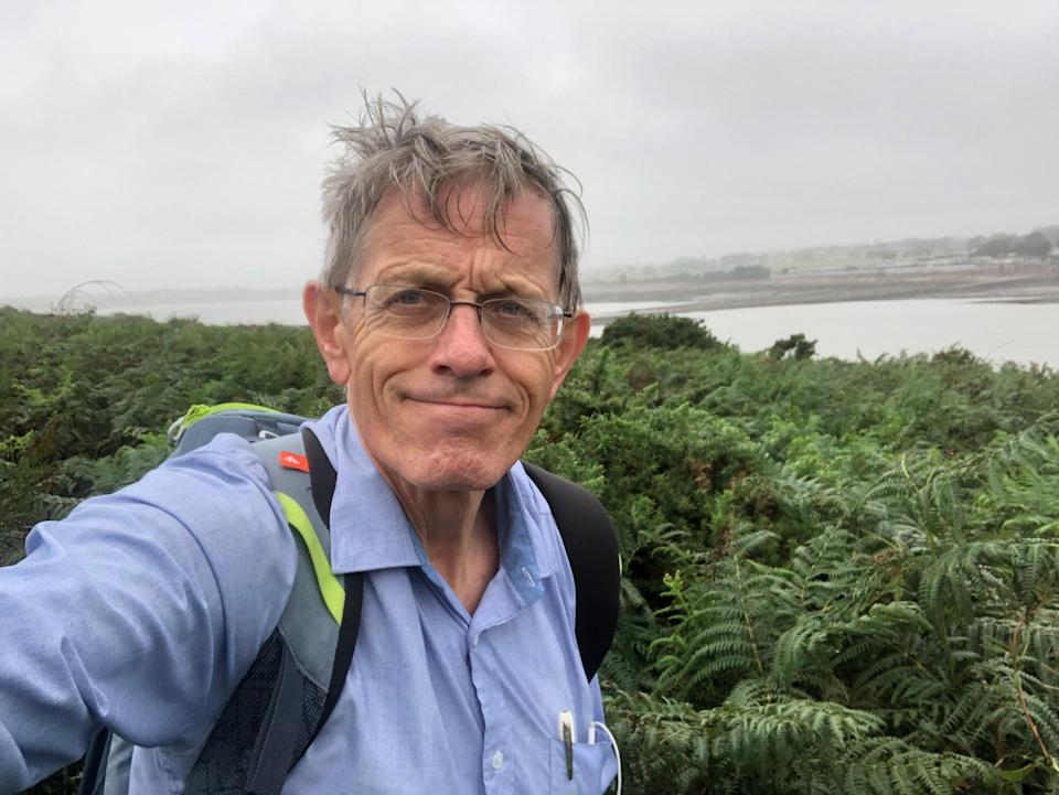 Welcome back? Simon Calder on the Wales Coast Path in August 2020 (Simon Calder)