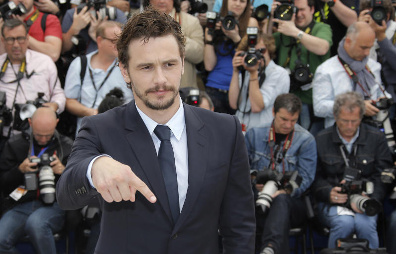 Director James Franco poses during a photo call for the film As I Lay Dying at the 66th international film festival, in Cannes, southern France, Monday, May 20, 2013. (AP Photo/Lionel Cironneau)
