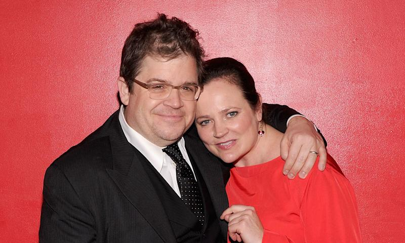 Patton Oswalt's wife, crime writer Michelle McNamara, died in 2016, months before the presidential election.