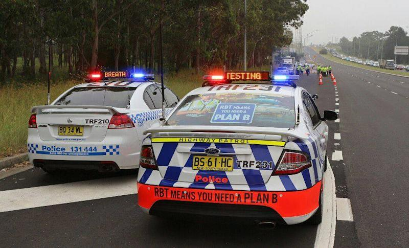 Breath testing being conducted by NSW Police as Operation Safe Arrival makes series of arrests.