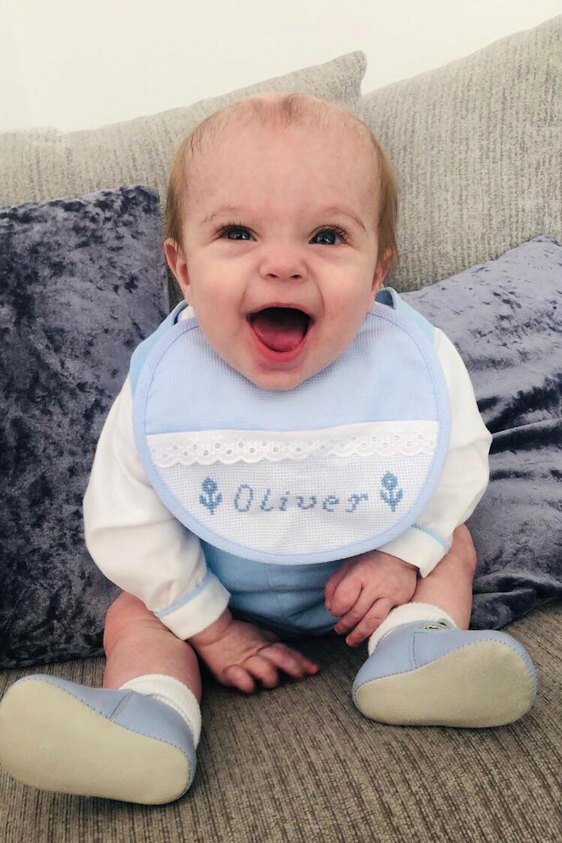 His mum took Oliver to the doctors after he appeared to be under the weather [Photo: Caters]