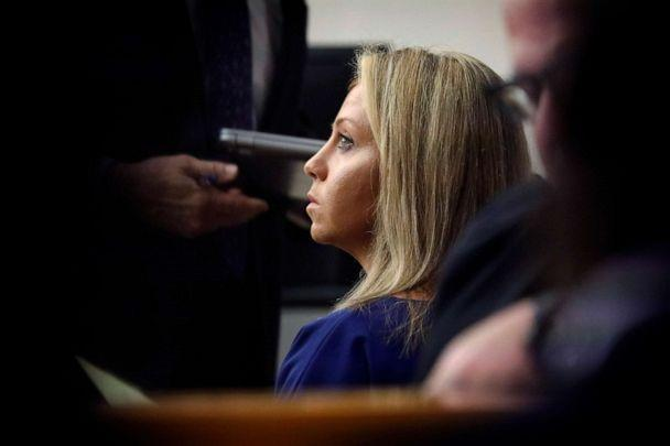 PHOTO: Fired Dallas Police Officer Amber Guyger listens as her attorneys make arguments during her murder trial, Sept. 23, 2019, in Dallas. Guyger went on trial in the shooting death of Botham Jean. (Dallas Morning News via AP, FILE)