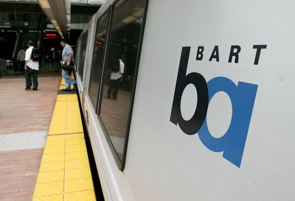 A 41-year-old woman was dragged to her death by a train at Powell Street Station in San Francisco on Monday, 13 September 2021. Representational photo (Getty Images)