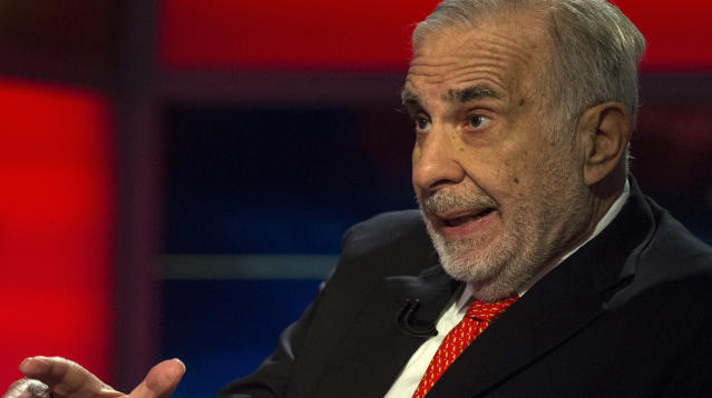 Trump Pal Carl Icahn Unloaded Millions In Steel-Related Stock Days Before Tariff