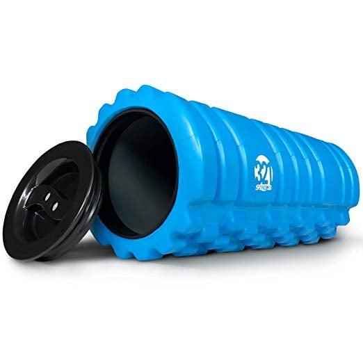 "<p>We love that this <a href=""https://www.popsugar.com/buy/321%20Strong%20Foam%20Roller-434260?p_name=321%20Strong%20Foam%20Roller&retailer=amazon.com&price=17&evar1=fit%3Aus&evar9=46418649&evar98=https%3A%2F%2Fwww.popsugar.com%2Ffitness%2Fphoto-gallery%2F46418649%2Fimage%2F46418690%2F321-Strong-Foam-Roller&list1=shopping%2Cfitness%20gear%2Chome%20workouts%2Cfitness%20shopping&prop13=mobile&pdata=1"" rel=""nofollow"" data-shoppable-link=""1"" target=""_blank"" class=""ga-track"" data-ga-category=""Related"" data-ga-label=""https://www.amazon.com/321-STRONG-Roller-Muscle-Massage/dp/B07GQM386N/ref=sr_1_25?keywords=foam+roller&amp;qid=1555016832&amp;s=gateway&amp;sr=8-25"" data-ga-action=""In-Line Links"">321 Strong Foam Roller</a> ($17) has storage space inside, perfect for exercise bands and other small equipment.</p>"