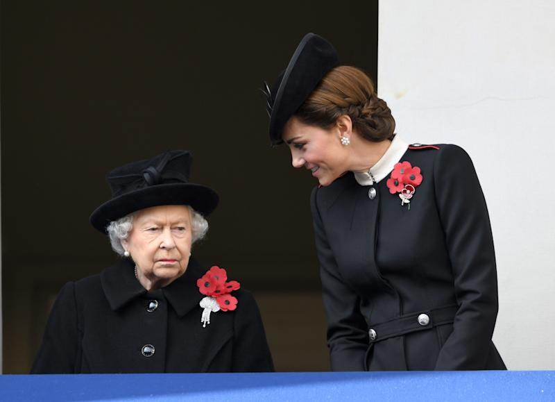 Queen Elizabeth Reportedly Once Disapproved of Kate Middleton's Lack of a Full-Time Job