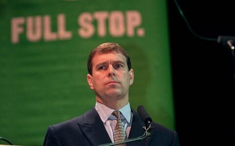 Prince Andrew at an NSPCC event  - Credit: Tim Graham