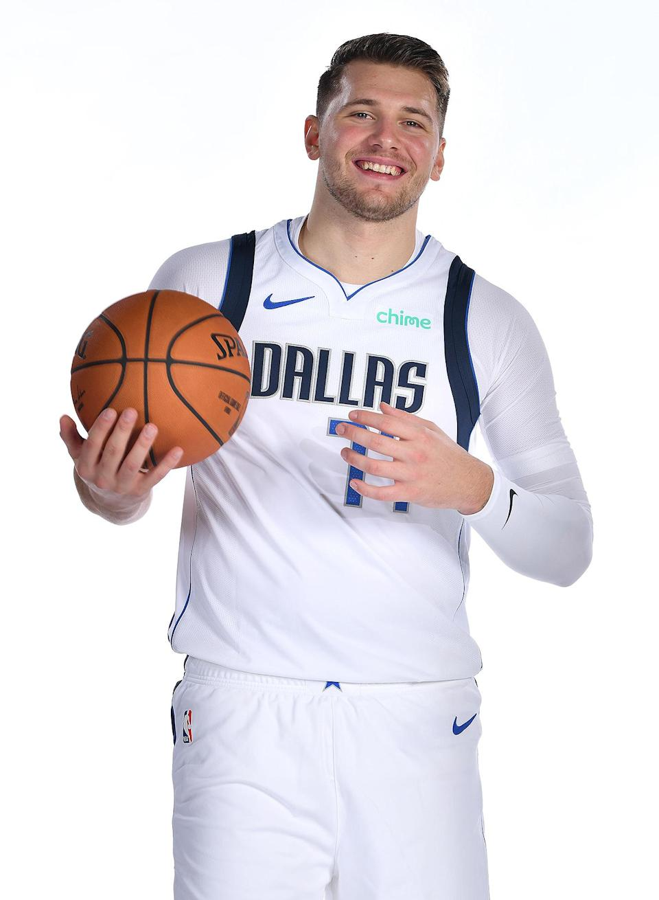 <p>Dončić of the Dallas Mavericks was the fifth overall pick in the All-Star draft this year.</p>