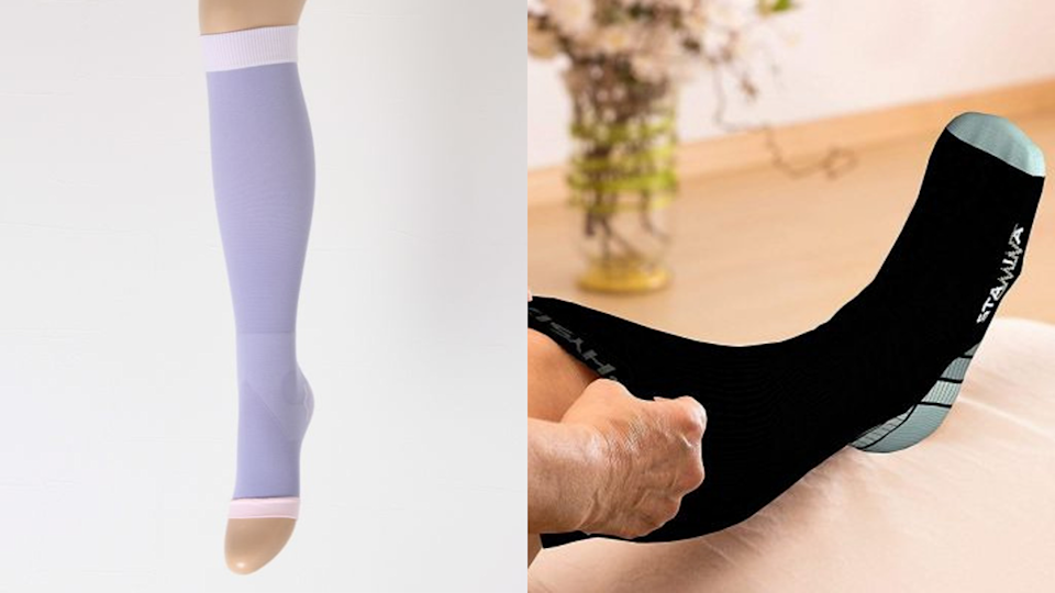 The best gifts for travelers: Dr. Scholl and Physix Gear Compression Socks