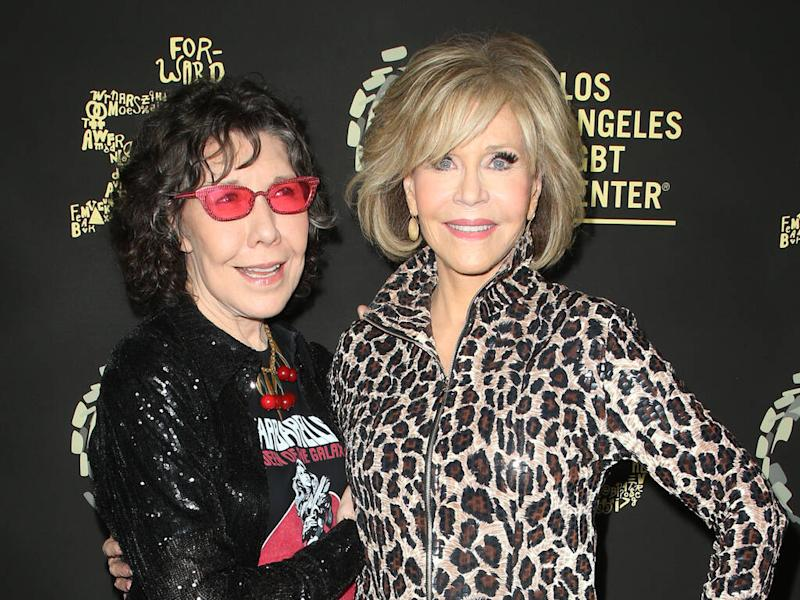 Lily Tomlin arrested at Jane Fonda's latest protest