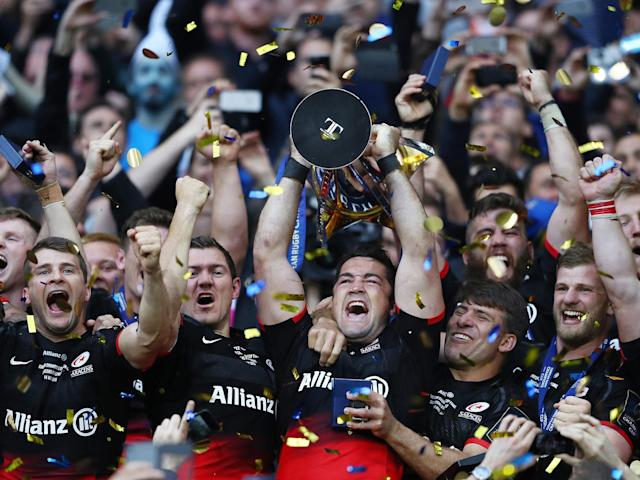 Saracens will have to win in either Dublin or Bordeaux to make the final if they see off Glasgow this weekend: Getty