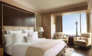 Conde Nast Traveler Announces The Ritz-Carlton, Toronto on 2013 Gold List
