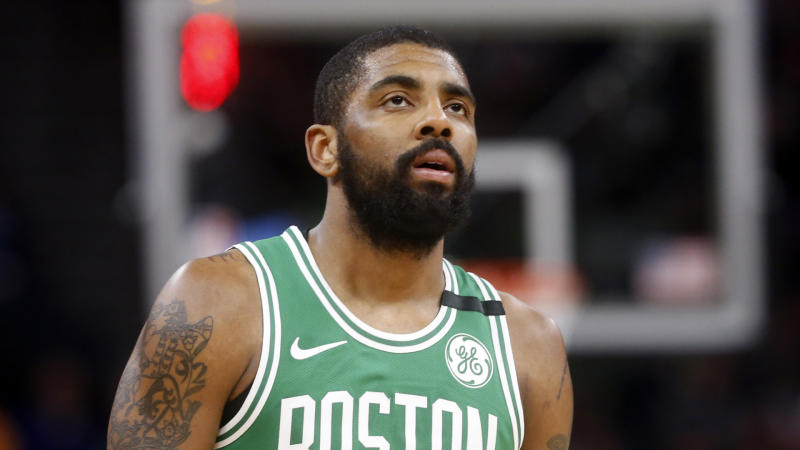 Celtics announce guard Kyrie Irving will undergo procedure on left knee