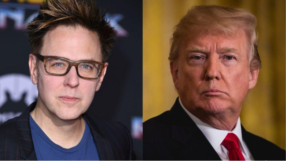 <p>Director James Gunn, best known for his work on Guardians of the Galaxy, does not believe the results of President Trump's White House… </p>