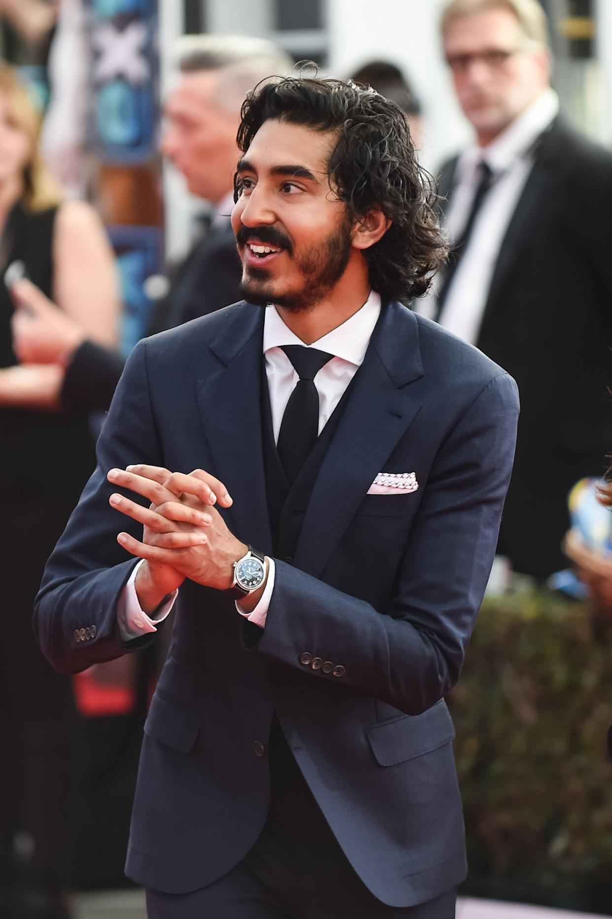 Dev Patel stopped on the red carpet to speak out during the 23rd annual Screen Actors Guild Awards.<br><br>&quot;I've just flown in from India and&amp;nbsp;to fly into what was a nightmare, to realize that this is actually happening right now in the world, in a country where I live, it's heartbreaking. The first thought that came in my head was just thousands of children and mothers and young fathers that have turned up to these shores with hope, and they're being swatted away. It's just so divisive and negative and wrong. It's scary, it's really scary.&quot;