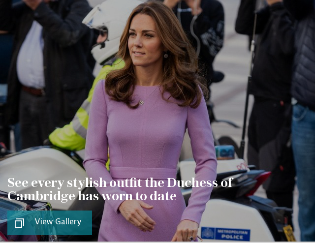 Duchess of Cambridge: every outfit ever