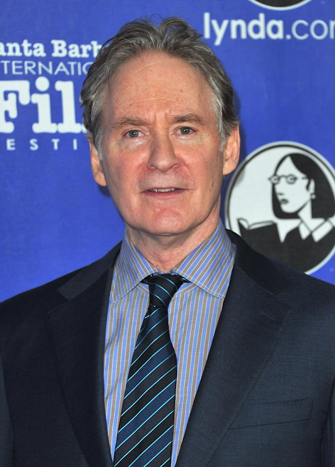 "SANTA BARBARA, CA - JANUARY 26:  Actor Kevin Kline arrives to the Santa Barbara International Film Festival's opening night premiere of Sony Pictures Classics' ""Darling Companion""  at Arlington Theatre on January 26, 2012 in Santa Barbara, California.  (Photo by Alberto E. Rodriguez/Getty Images)"