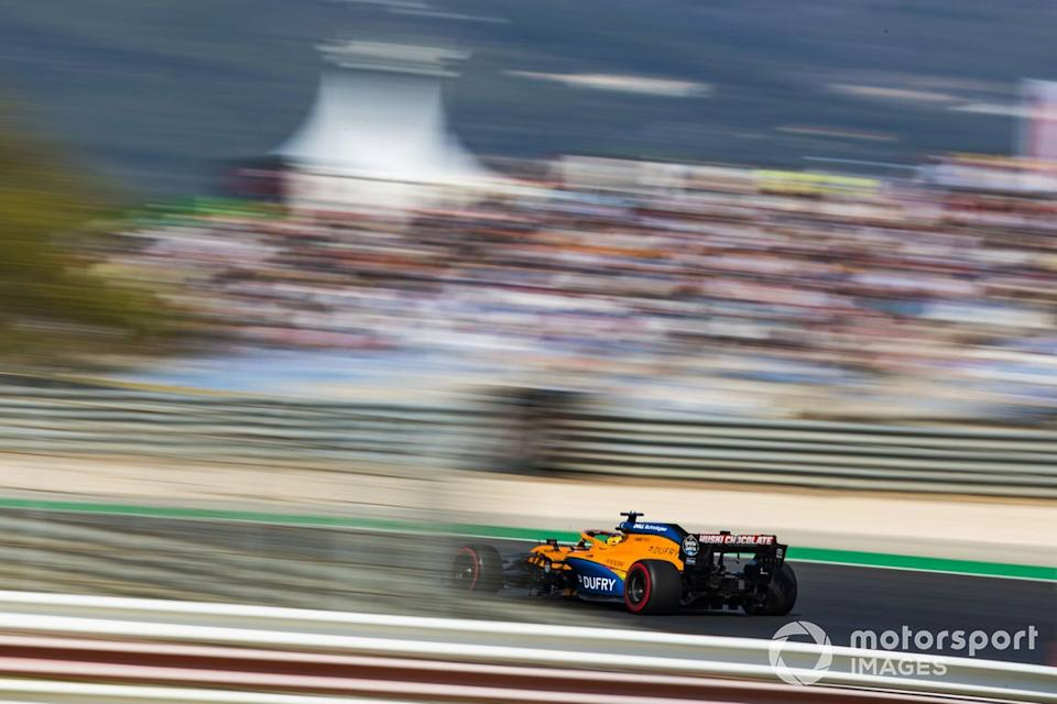 "Carlos Sainz Jr., McLaren MCL35<span class=""copyright"">Sam Bloxham / Motorsport Images</span>"