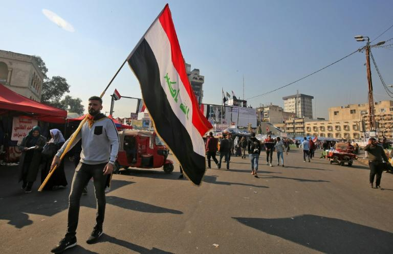 Iraqis have resumed protesting in Baghdad and across the south after parliament missed another deadline to appoint a prime minister (AFP Photo/AHMAD AL-RUBAYE)