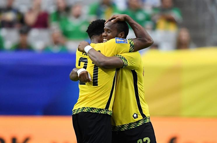 The Reggae Boyz are headed to their second consecutive Gold Cup semifinal. (Getty)